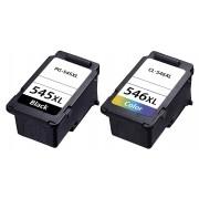 CANON Pack PG545XL / CL546XL Cartouches compatibles