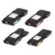 RICOH CL-3500 BK/C/M/Y Lot de 4 Cartouches Toners Lasers Compatibles