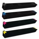 FG Encre Cartouche de Toner Compatible pour Sharp MX2300 / MX2700 BK/C/M/Y Lot de 4