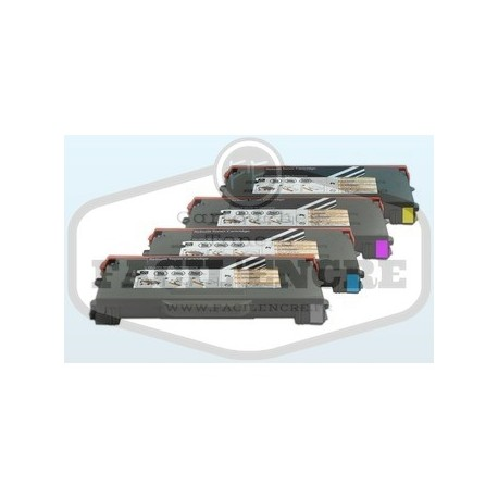 Pack TALLY GENICOM T8108 BK/C/M/Y Lot de 4 Cartouches Toners Lasers Compatibles