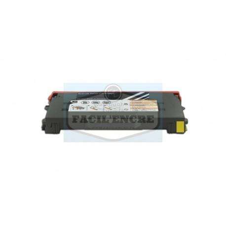 TALLY GENICOM T8108 Cartouche Toner Jaune Laser Compatible - 43798