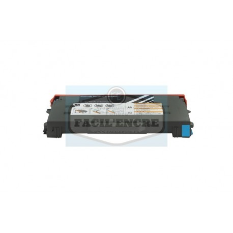 TALLY GENICOM T8108 Cartouche Toner Cyan Laser Compatible - 43796