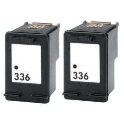 HP Pack 2 x N°336 Cartouches Compatibles
