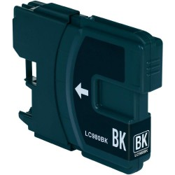 BROTHER LC1100BK / LC980BK Noire Cartouche Compatible