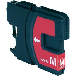 BROTHER LC1100M / LC980M Magenta Cartouche Compatible