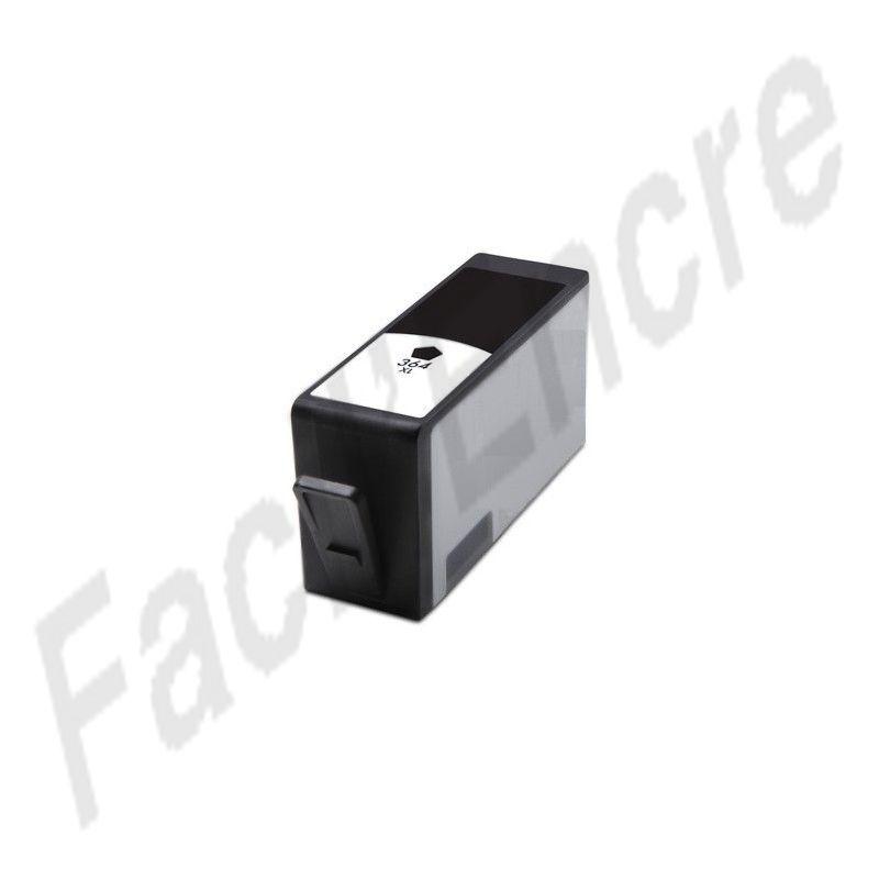 hp n 364xl cartouche noir compatible cb321ee cn684ee. Black Bedroom Furniture Sets. Home Design Ideas