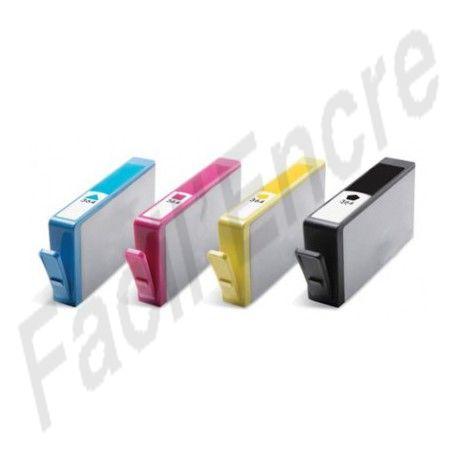 HP n°364XL Pack de 4 Cartouches compatibles