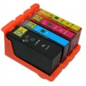 LEXMARK n°100 Pack de 4 Cartouches compatibles