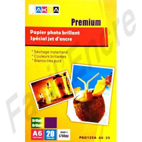Papier Photo Brillant A6