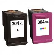 Pack compatible Haute Capacité HP n°304XL