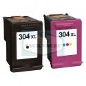 FG ENCRE Pack compatible Haute Capacité HP n°304XL