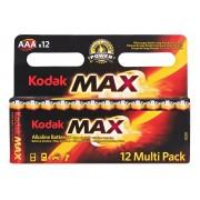 Pile Kodak Alkaline par 12 type AAA