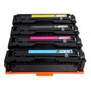 FG ENCRE Lot de 4 cartouches compatibles pour HP CF540X CF541X CF542X CF543X 203X