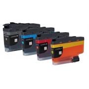 FG Encre Lot de 4 Cartouches Compatible LC3233 / LC3235XL DPC-J1100DW / MFC-J1300DW