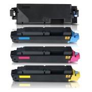 FG Encre Lot de 4 Toners compatible KYOCERA TK5280 K/C/M/Y