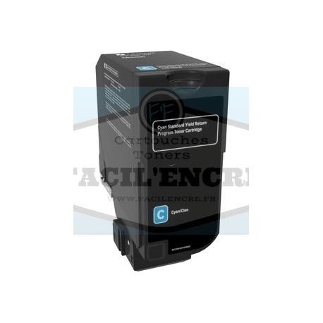 FG ENCRE Remplace Toner LEXMARK CS421 / CS521 / CS622 / CX421 / CX522 / CX622 Noir 2000 pages