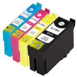 EPSON Pack T1306 Pack de 4 Cartouches compatibles