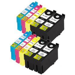 EPSON Pack T1306 Pack de 10 Cartouches compatibles