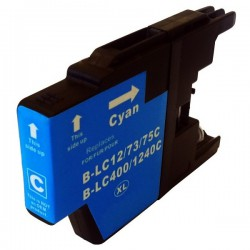 BROTHER LC1220 / LC1240 / LC1280 Cartouche Cyan compatible