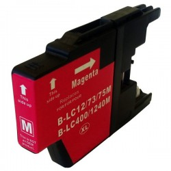BROTHER LC1220 / LC1240 / LC1280 Cartouche Magenta compatible