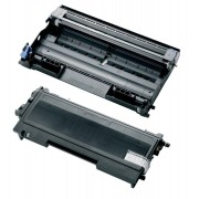 BROTHER TN-2000 & DR-2000 Lot de 2 Cartouches Lasers (Toner + Tambour) Compatibles