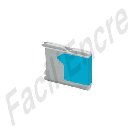 BROTHER LC970 / LC1000 Cyan Cartouche compatible