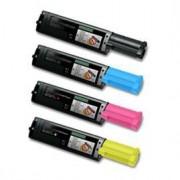 EPSON C1100 Lot de 4 Cartouches Toners Lasers Compatibles