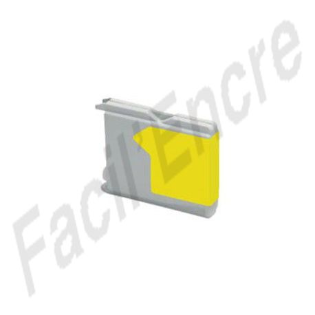 BROTHER LC970 / LC1000 Jaune Cartouche compatible