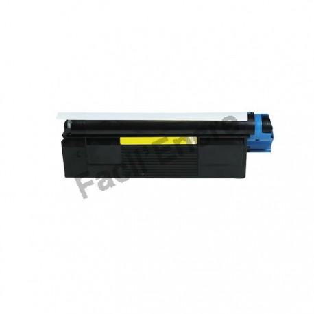OLIVETTI D COLOR P12 Cartouche Toner Laser Jaune Compatible B0458