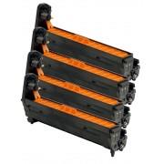 OKI C3100-C5100 BK/C/M/Y Lot de 4 Cartouches Tambours Lasers Compatibles