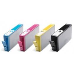 FG Encre Pack de 4 Cartouches compatibles HP n°364XL