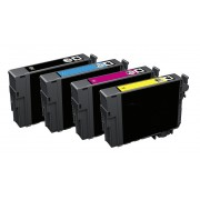 FG Encre Lot de 4 Cartouches Compatible Epson 502 / 502XL Workforce WF2860DWF WF2865DWF Expression Home XP5100 XP5105 XP5115