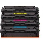 Lot de 4 toners pour HP W2210X / W2211X / W2212X / W2213X