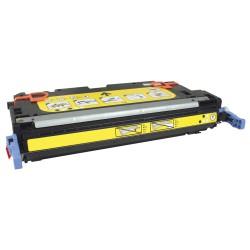 HP Q7562A Cartouche Toner Laser Jaune Compatible